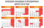Праздники-2018: впереди еще две рабочие субботы — все о налогах
